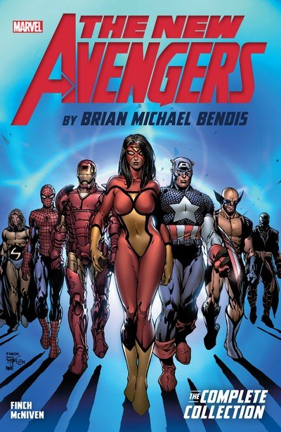 New Avengers by Brian Michael Bendis – The Complete Collection Vol. 1 – 7 (2017)