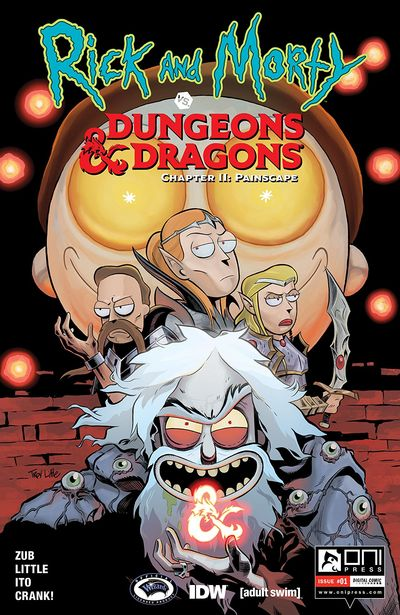 Rick And Morty Vs Dungeons And Dragons II – Painscape #1 (2019)