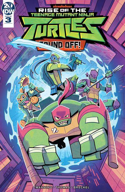 Rise Of Teenage Mutant Ninja Turtles – Sound Off #3 (2019)