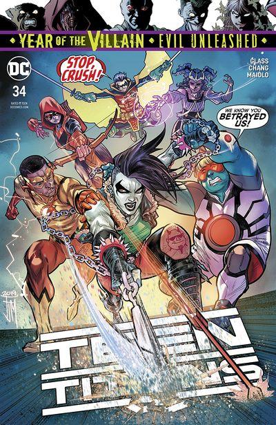 Teen Titans #34 (2019)