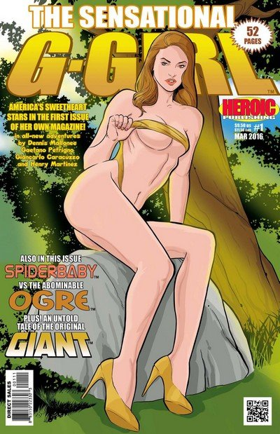 The Sensational G-Girl #1 – 4 (2016)