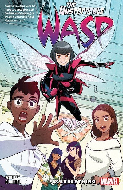 The Unstoppable Wasp – Unlimited Vol. 1 – Fix Everything (TPB) (2019)