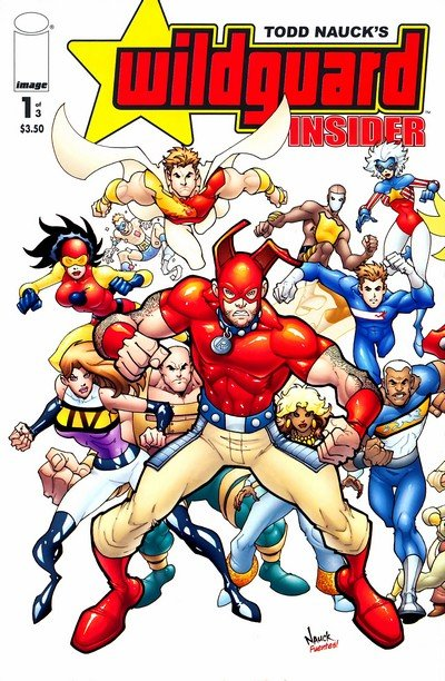 WildGuard – Insider #1 – 3 (2008)