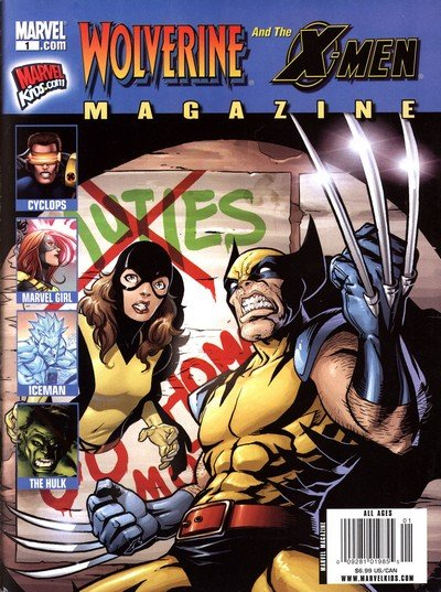 Wolverine And The X-Men Magazine #1 – 2 (2009)