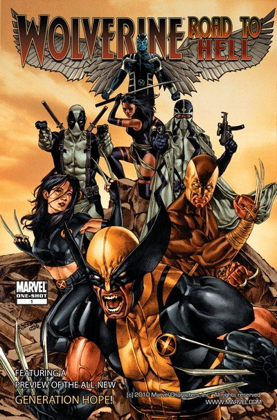 Wolverine Goes to Hell (Story Arc) (2010-2011)