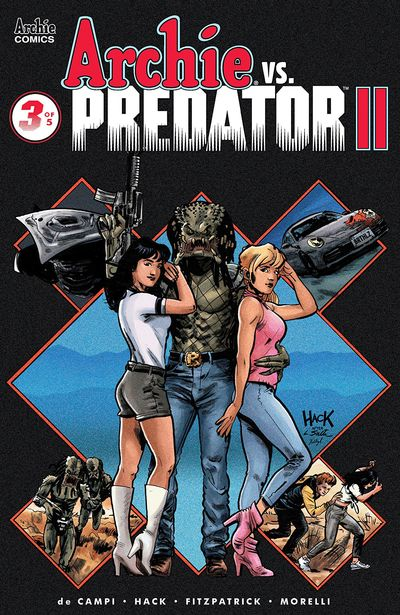 Archie Vs Predator Vol. 2 #3 (2019)
