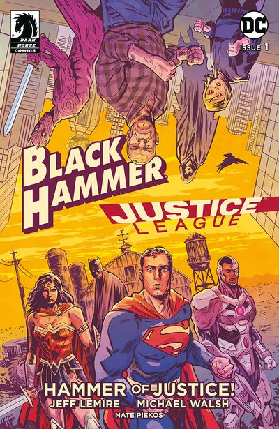 Black Hammer-Justice League – Hammer Of Justice #4 (2019)