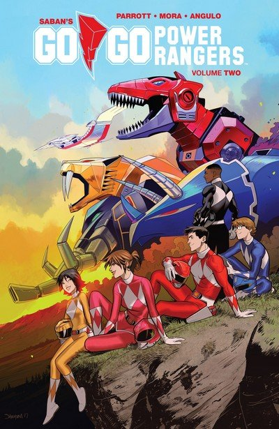 Go Go Power Rangers Vol. 2 (TPB) (2018)