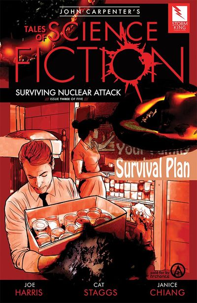 John Carpenter's Tales of Science Fiction – Surviving Nuclear Attack #3 (2019)