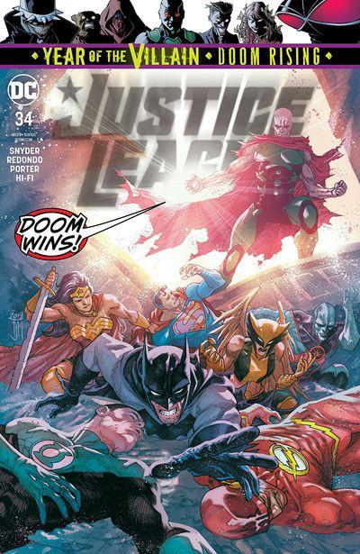 Justice League #34 (2019)