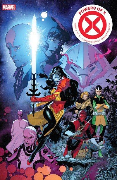 Powers of X #1 – 6 (2019)