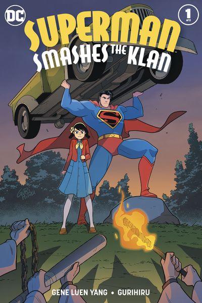Superman Smashes The Klan #1 (2019)
