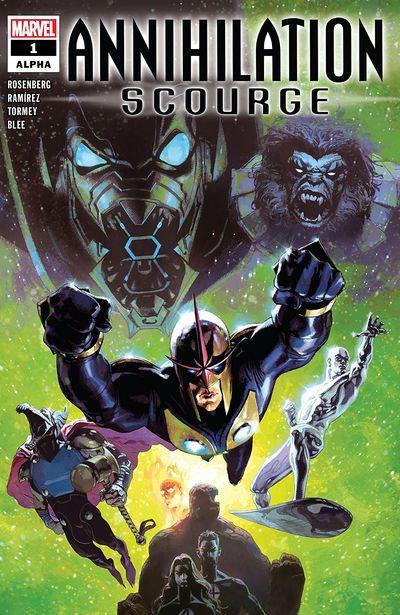 Scourge: Comics
