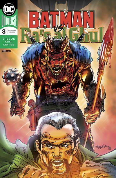 Batman Vs Ra's al Ghul #3 (2019)