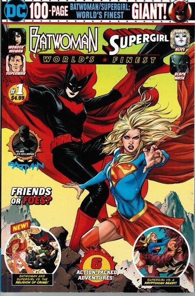 Batwoman-Supergirl – World's Finest Giant #1 (2019)