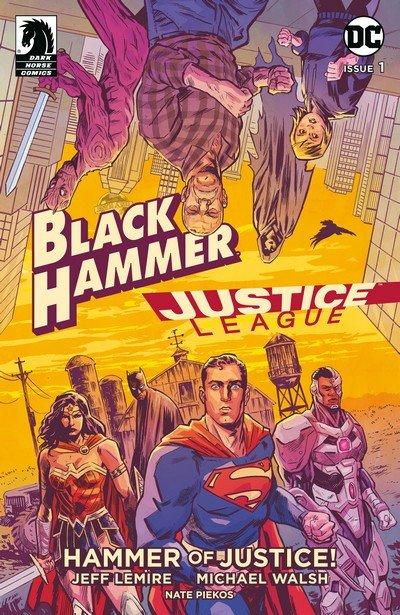 Black Hammer-Justice League – Hammer Of Justice #1 – 5 (2019)