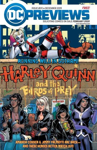 DC Previews #20 (Dec 2019 for Feb 2020)
