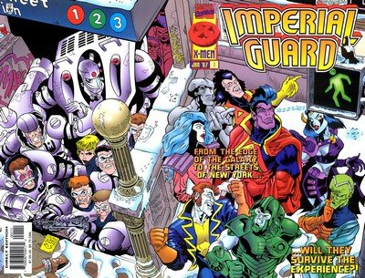 Imperial Guard #1 – 3 (1997)