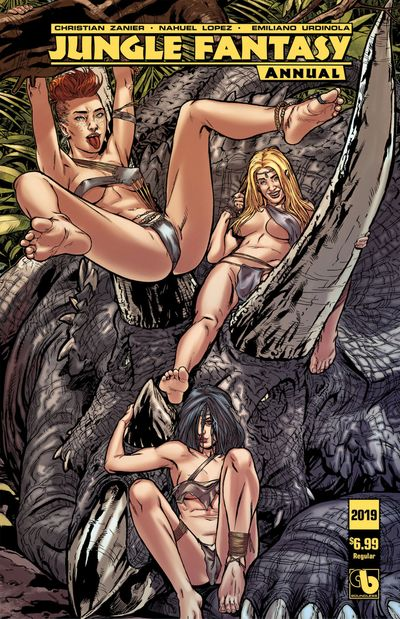 Jungle Fantasy – Annual 2019 (ADULT)