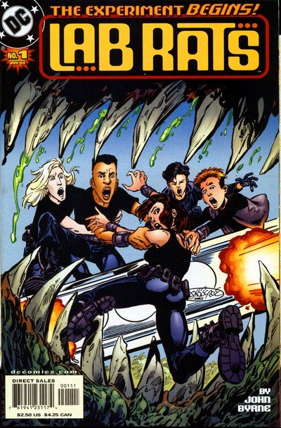 Lab Rats #1 – 8 (2002-2003)