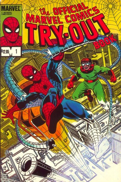 Official Marvel Comics Try-Out Book #1 (1983)