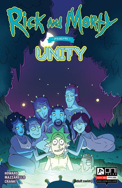 Rick And Morty Presents #8 – Unity (2019)