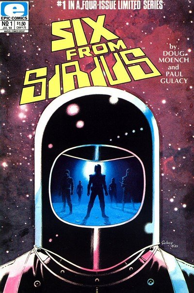 Six From Sirius #1 – 4 (1984)