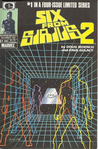 Six From Sirius 2 #1 – 4 (1985-1986)