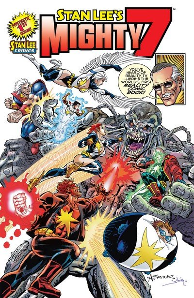 Stan Lee's Mighty 7 #1 – 3 (2012)