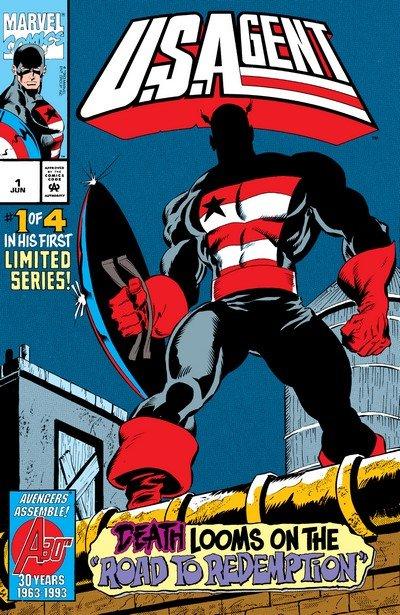 U.S.Agent #1 – 4 (1993)