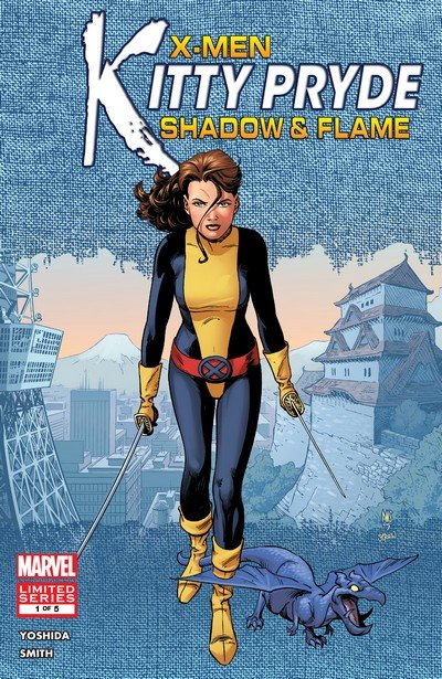 X-Men – Kitty Pryde – Shadow & Flame #1 – 5 (2005)