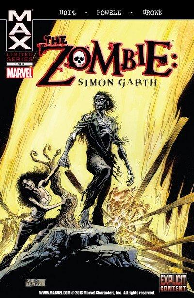 The Zombie – Simon Garth #1 – 4 (2008)