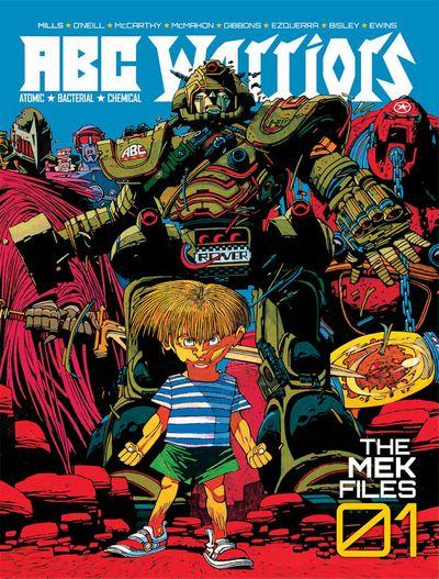 ABC Warriors – The Mek Files Vol. 1 – 4 (2014-2015)