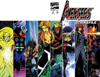 Avengers – Strikefile #1 (1994)