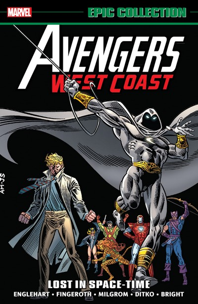 Avengers West Coast Epic Collection Vol. 2 – Lost in Space-Time (2019)
