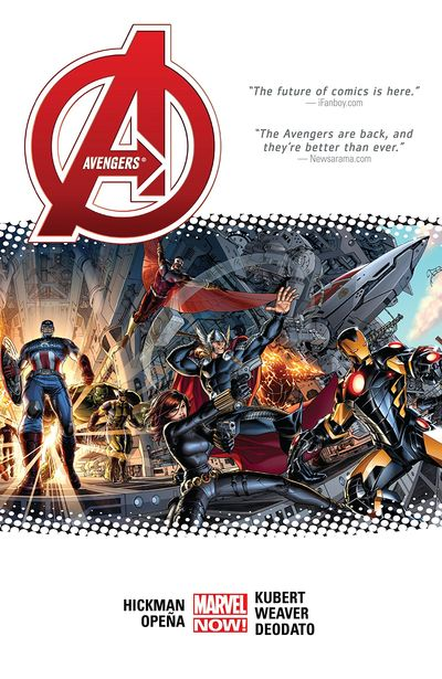 Avengers by Jonathan Hickman Omnibus Vol. 1 – 2 (2019) (FAN MADE)