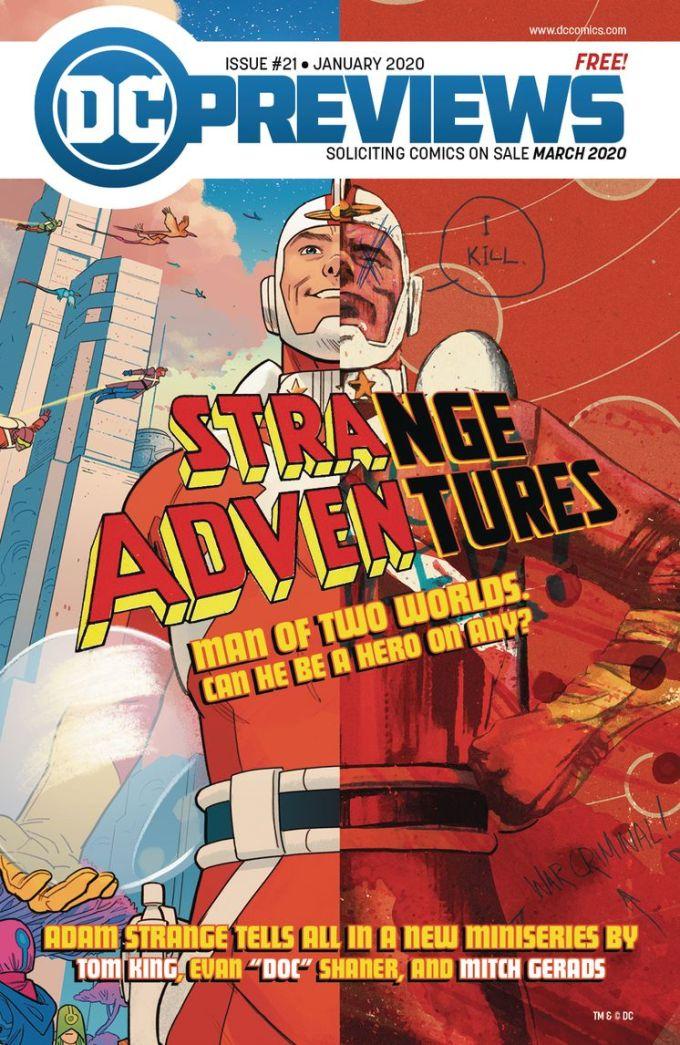 DC Previews #21 (Jan for Mar 2020)