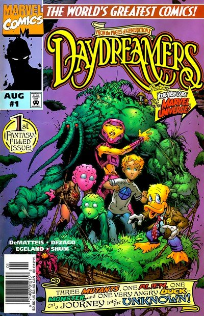 Daydreamers #1 – 3 (1997)