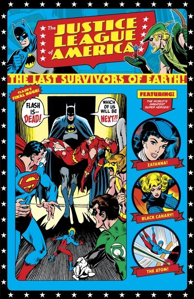 Justice League of America – The Last Survivors of Earth (TPB) (2019)