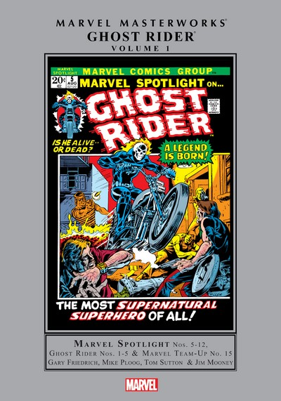 Marvel Masterworks – Ghost Rider Vol. 1 (2019)