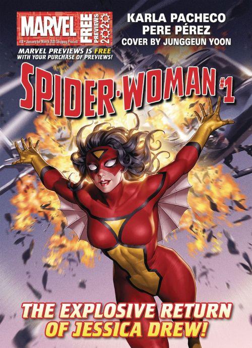 Marvel Previews #30 (Jan for Mar 2020)