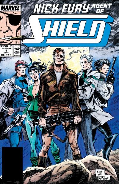 Nick Fury, Agent of S.H.I.E.L.D Vol. 2 #1 – 47 (1989-1993)