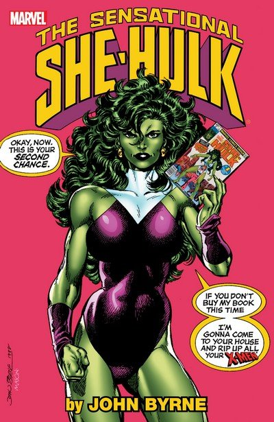 Sensational She-Hulk by John Byrne Vol. 1 (TPB) (2011)