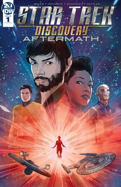 Star Trek – Discovery – Aftermath #1 – 3 (2019)