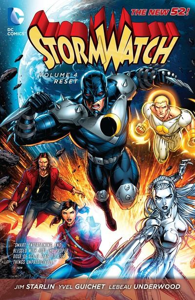 Stormwatch Vol. 4 – Reset (TPB) (2014)