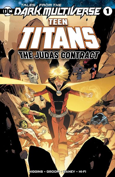 Tales From The Dark Multiverse – Teen Titans – The Judas Contract #1 (2019)