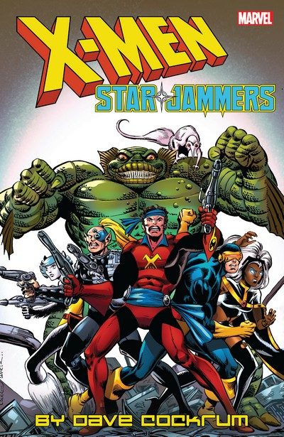 X-Men – Starjammers by Dave Cockrum (TPB) (2019)