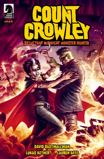 Count Crowley – Reluctant Midnight Monster Hunter #4 (2020)