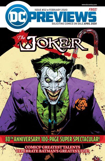DC Previews #22 (Feb for Apr 2020)