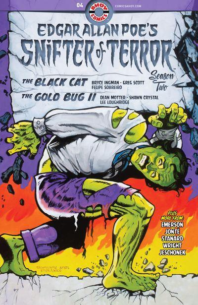 Edgar Allan Poe's Snifter Of Terror Season 2 #4 (2020)